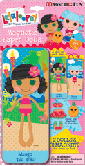 Magnetic Fun® Mini Tin: Lalaloopsy™ Set 5