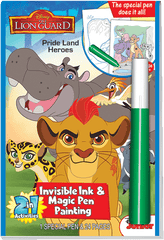 2in1: Disney Jr. Lion Guard - Pride Land Heroes