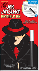 Invisible Ink: Yes & Know® Mr. Mystery - Line Up
