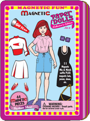 Magnetic Fun<small><sup>®</sup></small> Tin: Paper Dolls Set 2