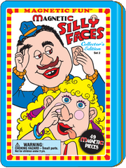 Magnetic Fun<small><sup>®</sup></small> Tin: Silly Faces Set 2