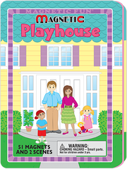 Magnetic Fun® Tin: Playhouse