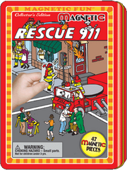Magnetic Fun® Tin: Rescue 911