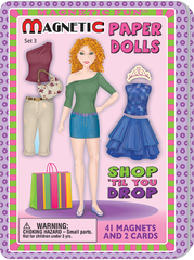 Magnetic Fun® Tin: Paper Dolls Set 3