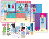 Magnetic Fun<small><sup>®</sup></small> Tin: Paper Dolls Set 4