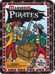 Magnetic Fun® Tin: Pirates
