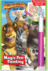 Magic Pen<small><sup>®</sup></small> Painting: DreamWorks Madagscar - Into The Jungle