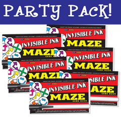 Invisible Ink: Yes & Know® Game Book - Maze Party Pack