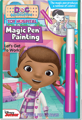 Magic Pen<small><sup>®</sup></small> Painting: Disney Jr. Doc McStuffins - Let&#39;s Get to Work