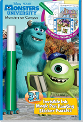 "3in1: Disney/Pixar - Monsters University ""Monsters on Campus"""