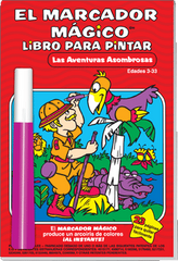 Magic Pen® Painting: Las Aventuras Asombrosas (Amazing Advertures)