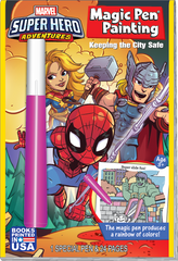 Magic Pen<small><sup>®</sup></small> Painting: Marvel Super Hero Adventures - Keeping the City Safe