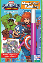 Magic Pen® Painting: Marvel Super Hero Adventures - Power Up, Squad!