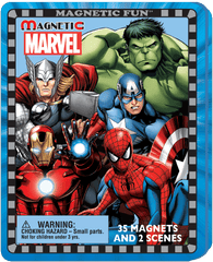 Magnetic Fun® Travel Tin: Marvel Super Heroes™