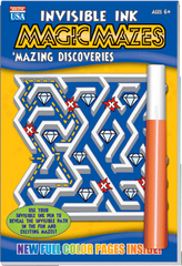 "Invisible Ink: Maze ""Mazing Discoveries"""