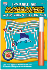Invisible Ink: Magic Mazes - Mazing Fish