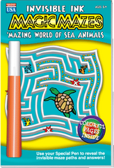 "Invisible Ink: Maze ""Mazing Sea Animals"""