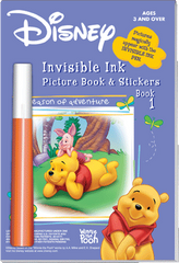 Invisible Ink with Stickers: Winnie the Pooh Book 1