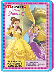 Magnetic Fun® Tin: Disney Princesses - Game and Play Tin