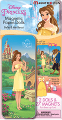 Magnetic Fun® Mini Tin: Disney Princess - Beauty & the Beast