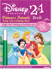 "2in1: Disney Princess - 8 1/8"" x 11"" Activity Book"
