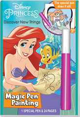 Magic Pen<small><sup>®</sup></small> Painting: Disney Princess - Little Mermaid &quot;Discover New Things&quot;