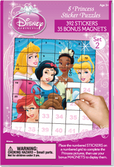 Sticker Puzzles: Disney Princess Set 2