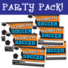 Invisible Ink: Yes & Know® Game Book - Soccer Party Pack