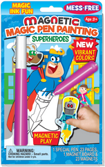 Magnetic Magic Pen® Painting: Superheroes