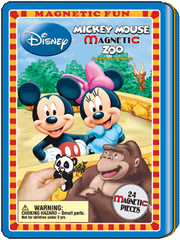 Magnetic Fun® Tin: Mickey Mouse Zoo