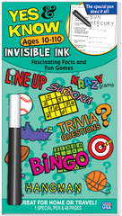 Invisible Ink: Yes &amp; Know<small><sup>®</sup></small> Book 10-110