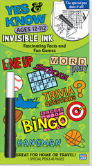 Invisible Ink: Yes & Know® Book 12-112