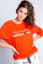 Load image into Gallery viewer, Dogs+Coffee Lover Long Sleeve