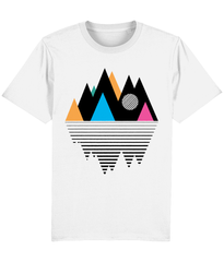 Mountain Geometry Design Composition Unisex T-shirt Minimal design