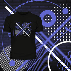 100% Eco T-shirt - Abstract Art Background Kuzi Tees
