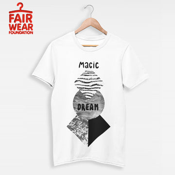 Promotion Abstract geometry shapes with watercolor & grunge - Magic Dream T-shirt