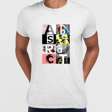 Abstract The Writing Is On The wall T-Shirt
