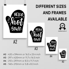 Kuzi Prints Different Sizes and Frames