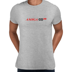 Amiga CD 32 Retro Game Console Arcade Grey Unisex T-Shirts OLD SKOOL Free Delivery