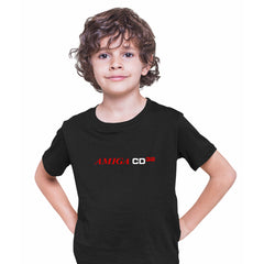 Amiga CD 32 Retro Game Console Arcade Retro Black T-Shirts for Kids OLD SKOOL Fast Delivery