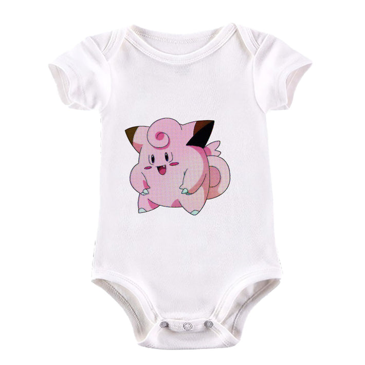 Clefairy Pokemon Go for Boys Girls Brand New Baby & Toddler Body Suit White