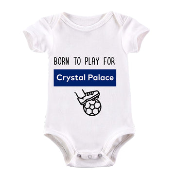 Born to Play For Crystal Palace Football Club Baby & Toddler Body Suit Black