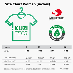 Kuzi Tees Women Sizes