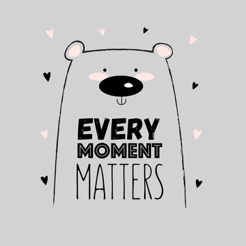 Every Moment Matters Animal Quote Funny Women White T Shirt
