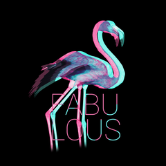 Fabulous Flamingo Inspiring Beauty Unisex Shirt Unisex Crew Neck T Shirt