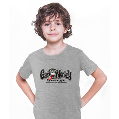 Gas Monkey Garage Blood Sweat and Beers Licensed Fast Loud Grey Kids T-Shirt