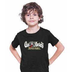 Gas Monkey Garage Blood Sweat and Beers Licensed Fast Loud Black Kids T-Shirt