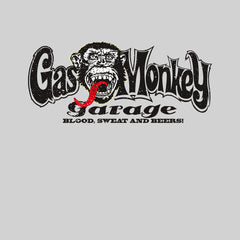 Gas Monkey Garage Blood Sweat and Beers Licensed Fast Loud White Unisex Tank Top