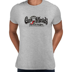 Gas Monkey Garage Blood Sweat and Beers Licensed Fast Loud Grey Unisex T-Shirt