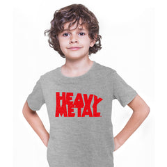Heavy Metal Comic Book Tee Magazine Superhero comics science fiction & fantasy Grey Kids T-Shirt